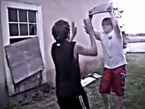 Teens Backyard Wrestling (TBW)'s first match