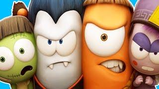 Funny Animated Cartoon | Spookiz Season 1 Stomp 스푸키즈 | Cartoon for Children