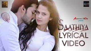 Saathiya   Lyrical Video   Odia Music Album   Aryan   Poornima   Shasank   Addictive Shots
