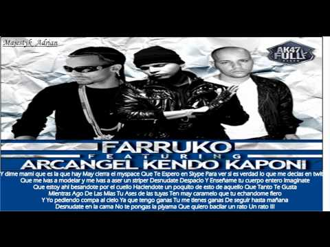 WebCam Farruko Ft Arcangel Kendo Kaponi Official Remix Prod By DJ Luian Lil Wizard Lirycs