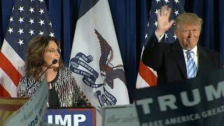 Full video: Sarah Palin endorses Donald Trump