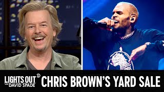 You Can Buy Chris Brown's Stuff Now (feat. Jen Kirkman) - Lights Out with David Spade