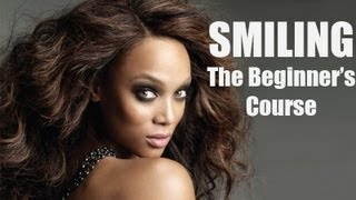 """Tyra Banks - Smiling """"The Beginner's Course"""" (America's Next Top Model)"""