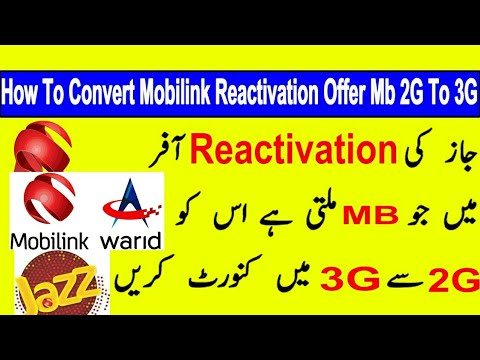 Xxx Mp4 How To Convert Jazz 2g MB To 3g Jazz Sim Lagao Offer 3000 Free SMS MB Mints Champion 1 Package 3gp Sex