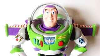 Disney Store Toy Story Buzz Lightyear Talking Figure review