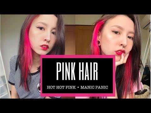 Xxx Mp4 PINTEI O CABELO Cabelo Rosa Manic Panic Hot Hot Pink 3gp Sex