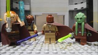 LEGO STAR WARA Palpatine's arrest Mace Windu vs Darth Sidious