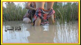 الهند العجيب | بنات هنديات يصطادون الاسماك بطريقة عجيبة – شاهد عجائب الهند ... إنسان