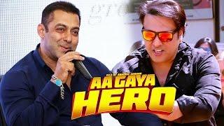 Salman Khan PROMOTES Govinda's Comeback Film AA GAYA HERO