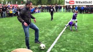 Robin van Persie Tournament football freestyle featuring Soufiane Touzani and Tonny Vilhena. 2013
