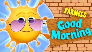 Good Morning Song   Kids Song Compilation   Baby Rhymes Collection by Farmees