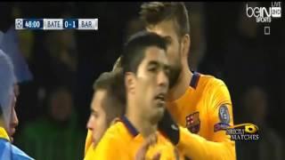 اهداف مباراة برشلونة وباتي بوريسوف  2 0 كاملة 2015 10 20 فهد العتيبي HD