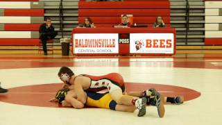 Boys Junior Varsity Wrestling Matches Baldwinsville VS West Genesee 12/14/2016