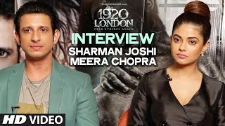 1920 LONDON : Sharman Joshi & Meera Chopra Exclusive Interview | T-Series