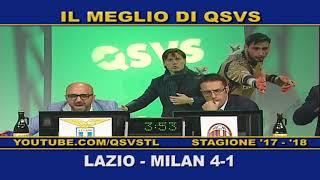 QSVS - I GOL DI LAZIO - MILAN 4-1  TELELOMBARDIA / TOP CALCIO 24