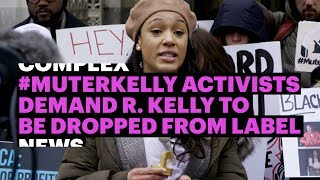 #MuteRKelly Activists Demand R.Kelly to Be Dropped From Label
