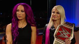 Alexa Bliss and Sasha Banks reflect on making history in Abu Dhabi: WWE Straight to the Source