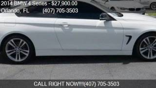 2014 BMW 4 Series 428i 2dr Coupe for sale in Orlando, FL 328