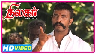 Thilagar Tamil Movie | Scenes | Commotion at the theatre | Poo Ram | Kishore
