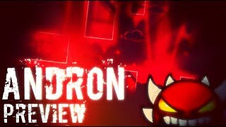Andron Preview | THE OFFICIAL HAUNTED CORRIDOR REBIRTH | Geometry Dash 2.1