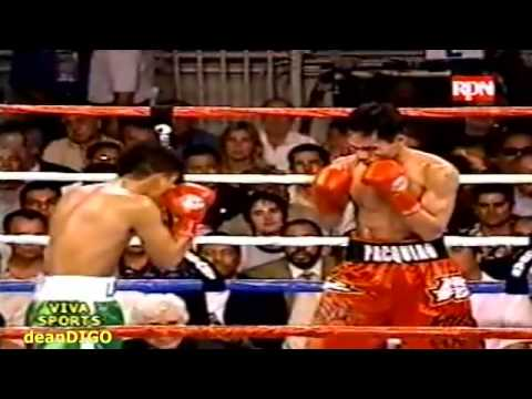 Pacquiao vs Lucero 1 Punch KO at R3 WideScreen HQ