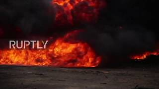 Panama: 9.6 tonnes of drugs go up in flames