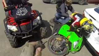 Motorcycle Crashes, Motorcycle accidents Compilation 2014 Part 12