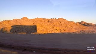 Ägypten durch die Wüste von Safaga nach Qina 60M Qena Safaga RD AI Hurghada Luxor Desert