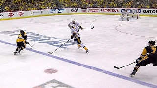 Penguins' potential fifth goal waved off after offside review
