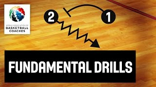Basketball Coach Kennedy Hamilton - Teaching Fundamental Drills