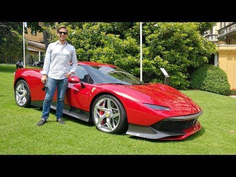 This is the €4.0M Ferrari SP38 Deborah WORLD DEBUT Engine Sound Sub ENG