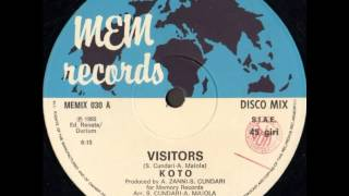 Koto ‎– Visitors (12'' maxi single)