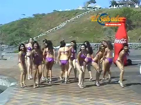 Baile de las Candidatas 2009 en la Playa