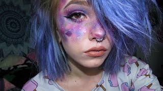 Pastel Galaxy Makeup Tutorial!