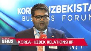Uzbek President lands in S. Korea, reaffirming strong 25 year partnership