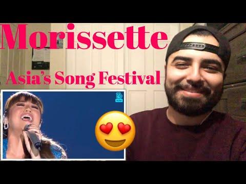 Reacting to Morissette Amon at Asia's Song Festival