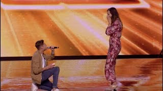 Sam Not Only Gets Yes From Judges, But From His Girlfriend As Well | Boot Camp | The X Factor UK 201
