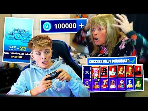 Xxx Mp4 Kid Spends 500 On FORTNITE With Mom's Credit Card MUST WATCH 3gp Sex