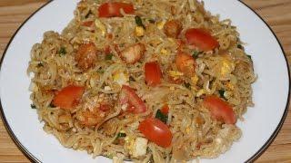 রেস্টুরেন্ট স্ট্যাইলে নুডুলস রেসিপি/How to make restaurant style noodles