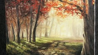 Autumn Sunlight | Paint with Kevin Hill