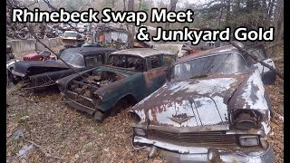 Iron Trap Garage Travels to the Rhinebeck Swap Meet and Hits Junkyard Gold