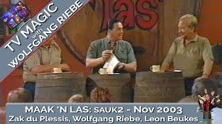 Maak 'n Las: November 2003 met Wolfgang Riebe