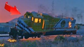 ¿Cómo detener al tren en GTA 5? - GTA V (Grand Theft Auto 5)