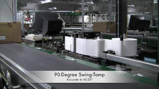 Label Print-Apply System at Automated Distribution Center