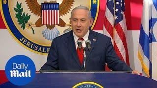 Benjamin Netanyahu says: