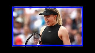 NEWS 24H - Give me a kiss the mistletoe! Eugenie bouchard floored with her super bowl on twitter