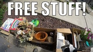 INSANE FINDS Found In The Trash FOR FREE - Garbage Picking Ep. 85