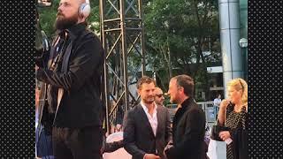 Amelia & Jamie Dornan  at Toronto  (TIFF)