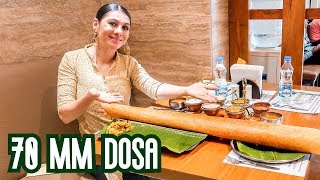BEST INDIAN FOOD: HYDERABAD CHUTNEYS DOSA    TRAVEL VLOG IV