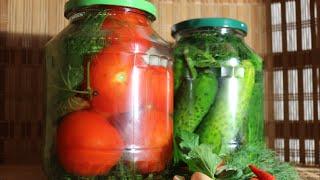 Russische Malossol Gurken / russian light salted pickles / малосольной огурцы